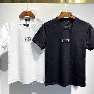 SS20 Yeni Geliş Üst Kalite D2 Giyim Erkek Tişörtleri Baskı sokak giyim Tees Kısa Kollu M-3XL DT722