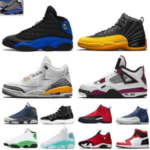 Tie Dye 1s 4s erkek kadın basketbol ayakkabıları 25. yıl dönümü 11'leri erkekler Üniversite Altın 12s Hiper Kraliyet 13s spor ayakkabısı 5,5-13 yetiştirilen withe