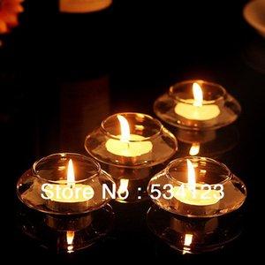 24pcs flotantes titular de la vela votiva para la pecera de la boda / cristal / decoración de la cena / candelabro central