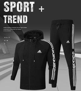 Nuovo 2pcs con cappuccio Felpe Set moda Sportswear Tuta felpa uomo autunno donne calde dei vestiti Hoodies + Pants Set Jogging Tuta da corsa