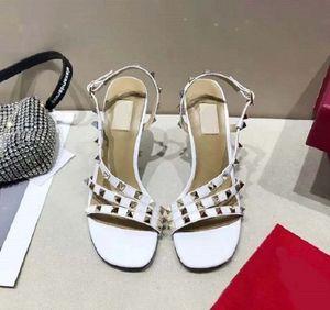 Newlassic High heeled sandals Wedge heel luxury Designer cowboy woman shoes Metal buckle for parties Occupation Sexy sandals 013 VA1