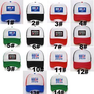 Joe Biden Beyzbol Şapkası 2020 Başkan Seçim Kampanyası Güneş Koruma Kapağı Polyester Malzeme Unisex Mesh Cap Mevcut All Season VT1378