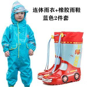 9jyxo Boys' Boots Coat Clothes Kids' Set Jumpsuit Rain Umbr Dinosaur Body Girls' Baby Raincoat Children's Watershoes Rainboots Dinosaur Ilnm