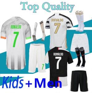 2019 2020 21 camiseta de la juventus Soccer Jersey kids DYBALA RONALDO Soccer Shirt 19 20 Juventus kids Camisetas de fútbol niños personalizadas DE LIGT MANDZUKIC