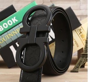 Man Women Belts Fashion Belt Casual Smooth Buckle Belt 14 Model Width 38mm High Quality