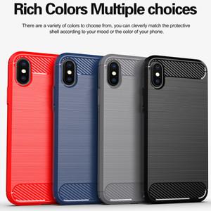Carbon Fiber Phone Case For Xiaomi Redmi 9 9A 9C Case TPU Gel Skin Soft Redmi Note 9 10X Poco F2 Pro Silicon Cover