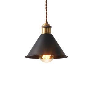 Vintage Industrial Iron Pendant Lights Loft Lampe American Retro Hanging Pendant Lamp for Restaurant Kitchen Bar Counter Home