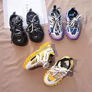 Дети Мальчик кроссовки спорт теннис тренажер для мальчика платье девушки 2020 новый ребенок Модельер обувь для девушки футбольных школьных тренеров 26-37 EUR