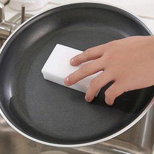 White 50 pcs lot Magic Sponge Eraser Melamine Cleaner Multi-Functional 100x60x20mm Cleaning White Magic Sponge