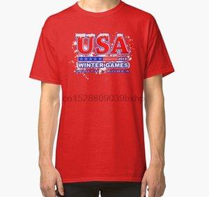 Men tshirt USA 2020 Winter Games US South Korea Sports T shirt Classic T Shirt women T-Shirt tees top