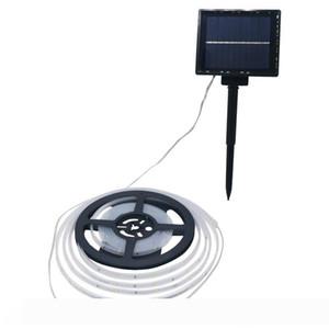 Edison2011 New Solar Power bandes de LED SMD2835 5 M 100leds étanche Bande Guirlande Solaire