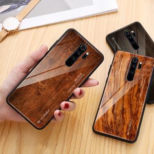 Grain de bois Téléphone Case Pour Xiaomi redmi Note 8 Pro Verre Trempé Dur Pour Xiaomi Mi 9T 9t Pro redmi Note 6 7 8 Pro 8A Capa