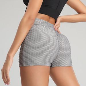 Women Shorts Running Yoga Tights Summer Solid Quick Dry Sport Jogging Fitness Yoga Sexy High Waist Biker Shorts