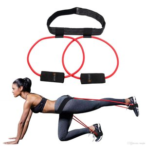 FDBRO 2019 New Glutes Muscle Workout Fitness Women Booty Butt Band Resistance Bands Adjustable Waist Belt Pedal Exerciser Free Shipping
