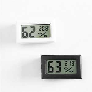 Mini Digital LCD Indoor Sensore di temperatura del tester di umidità del termometro Gauge Fahrenheit / Celsius per umidificatori Garden JK2008KD