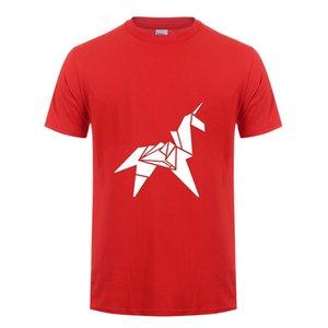 Man Woman origami unicorn t shirt blade runner retro movie nt cotton short sleeve t-shirt summer tops camisetas