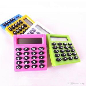 Digital Calculato 5 colori Student digitali mini calcolatrice elettronica da esterno batterie portatili Pocket Calcolatrici Office Home BH1271 TQQ