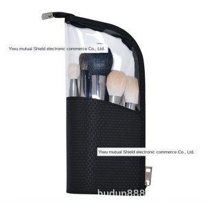 uPVhW HDWISS vertical makeup Hdwi vertical cosmetic pen s large Cosmetic brush pen storage bag large capacity bag portable simple makeup buc