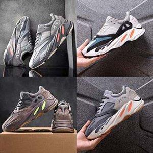 2020 Новый стиль Дети Ребенок Candy Solid Colors Дети Kanye West 700 Kanye West 700 Обувь для мальчиков Кроссовки девушки Canvas Kanye West # 271