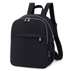 Vintage Backpack For Teenage Girl Shoulder Mochila Feminina Women School Backpack Nylon Waterproof Casual Student Bagpack Female