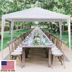 في الهواء الطلق خيمة الحزب نزهة المحمولة المظلة الزفاف الأبيض خاص خيمة 3 × 3M خيمة مقاومة للماء مع أنابيب لولبية الأسهم الأمريكية
