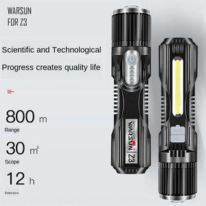 Watson Charging Schatz Z3 Taschenlampe LED Multifunktions-Taschenlampe heranStandardHalter Schnittstelle mit Lade Schatz