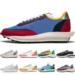 Новейшие LDV вафельных обуви повседневной обуви мужских женщины Varsity Синего коренастый Dunky игра Royal Wolf Gray Varsity Синие женщины мужских тапки тренеры