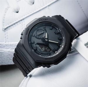 New Arrival 2020 Homens Mulheres Luxo Choque Relógios Movimento automático Sports Quartz Relógios de pulso Analógico Digital Dual Display presente Relógio para Boy
