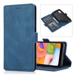 Samsung Galaxy S20 S10 NOT kickstand ile 10 9 vaka için Samsung galaxy A01 Kapak İçin Sıcak satış Moda Telefon Kılıfları PU deri