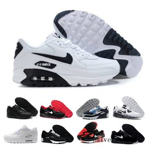 Men Sneakers Shoes Classic 90 Men and woman Shoes Sports Trainer Air Cushion Surface Breathable Sports Shoes 36-45 HY9KJ