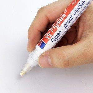 Home Decoration Tile Mark Repair Wall Pen White Cement Mark Tasteless Tile Floor