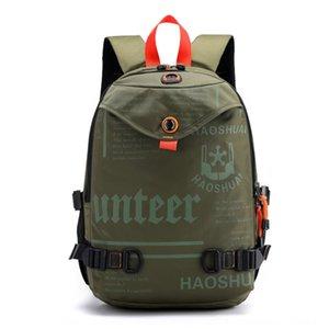 Mw1Z2 New coreano estilo moderno forStudents schoolbag homens e mulheres moda lazer ao ar livre de grande capacidade backpackbackpack Travel Bag Bac