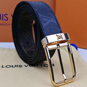 2020 negocio de la moda cinturón de estilo casual anchura de 3,4 cm y la mujer para hombre de lujo de diseño # 160; Marca 1Gcinturón 1GCuero