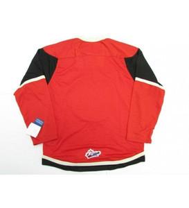 Personalizar QMJHL Quebec Remparts Mens Mulheres Miúdos Vermelho Hóquei Branco Cheater Jerseys Goalit Corte Top Quality Jerseys Novo