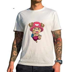 Brand One Piece T Shirt 2017 Fashion Japanese Anime Nico Robi 100% Cotton White Color Clothes T-Shirt For Man Women Camiseta