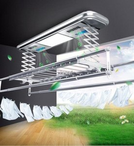 TK-9002 Intelligent électrique Etendoir Balcon automatique Télécommande Vêtements de levage Séchage en machine 220V 121W 50Uj #