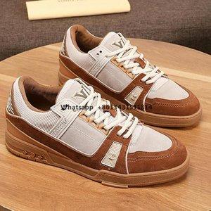 2020 para hombre de alta calidad zapatos para hombre zapatillas de deporte de los zapatos de moda de lujo ocasionales de la zapatilla de deporte respirable Trainer Zapatos De Hombre lujo Diseño Ty Moda