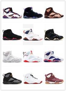 Top 7 7s Basketball Chaussures Pour Hommes Femmes Oregon Ducks Bordeaux Hare Raptor White Patent Topaze Mist olympique Zapatilla Baskets Chaussures Baskets