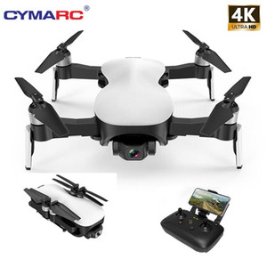 CYMARC W12 المضادة للاهتزاز 3 المحور جيمبل GPS الطائرة بدون طيار مع واي فاي 2KM FPV 4K HD كاميرا فرش السيارات طوي كوادكوبتر مقابل EX4 X12