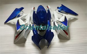 Body For SUZUKI GSXR-1000 GSX-R1000 hot GSXR1000 07 08 Bodywork GSX R1000 07 08 K7 GSXR 1000 2007 2008 blue white AC06Full Fairing kit