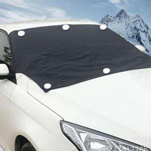 자동차 표지 전면 앞 유리 스노우 커버 자동차 겨울 부동액 일 쉴드 눈이 자동차
