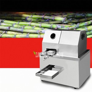 Automática de cana Juicer Machine / Sugar Cane Juice Machine / Sugar Cane Crusher Machine / Commercial Sugar Extractor 110V / 220V 2cAX #