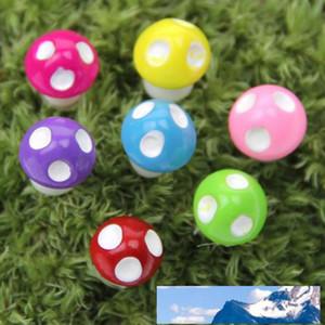 20pcs Mini Decoración de resina artesanal miniatura Hongos Dot hadas GNOME terrario Garden Party Decor miniatura Microlandschaft
