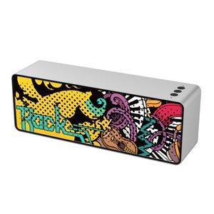 마이크 음성 통화와 F2 블루투스 스피커 컴퓨터 휴대용 스피커 무선 블루투스 스테레오 음악 지원 TF 카드