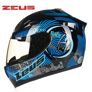 ZEUS Motorcycle Helmet DOT ECE Men Full Face Seasons Helmets Motorbike Racing Moto Motor Bike Snowmobile Capacetes Headgears