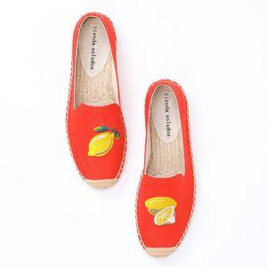 Tienda Soludos Damen Espadrilles 2020 New Rushed Sapatos Mode flache Schuhe Frau Faul auf Turnschuhen Mokassins Schuhe
