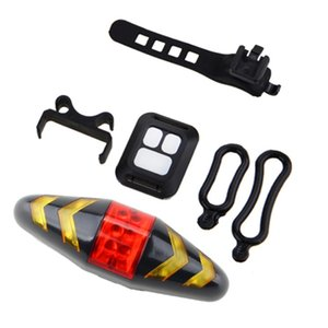 Remote Control Bicycle LED Turn Signal Light Taillight for Mountain Bike Bicycle Turn Signal