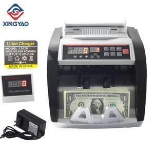 충전식 배터리 DC 돈 카운터와 4,000mA 리튬 배터리 XD-5800C 빌 카운터
