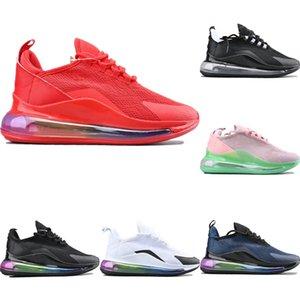 2020 Dccxx Motif creux maille respirante Chaussures de sport originaux Dccxx arc-en-Gradient Air Zoom Rembourrage Chaussures Jogger