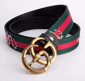 2019 Hot Black High Quality ceinture Designer Belts Fashion Tiger animal pattern buckle belt mens womens belt for gift